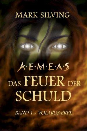 """Dies ist das Cover des Debütromans """"Volarus Erbe"""" der Science-Fantasy-Reihe…"""