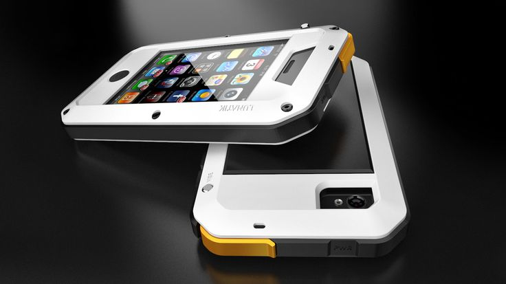 Lunatik Taktik iPhone Case - White