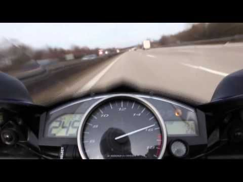 Yamaha R6 2007 Top Speed 295km/h (183mph)