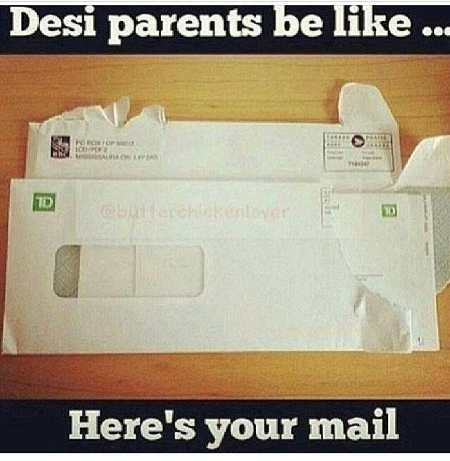 Took a while for my parents to understand NOT to open my mail!! They stopped when I told them it was a Federal crime ;)