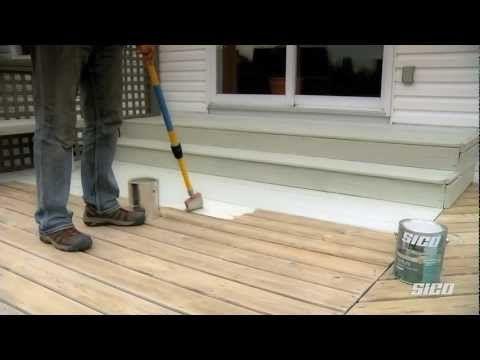 Restaurer le bois ext rieur expos aux intemp ries d co - Teinture bois blanc ...