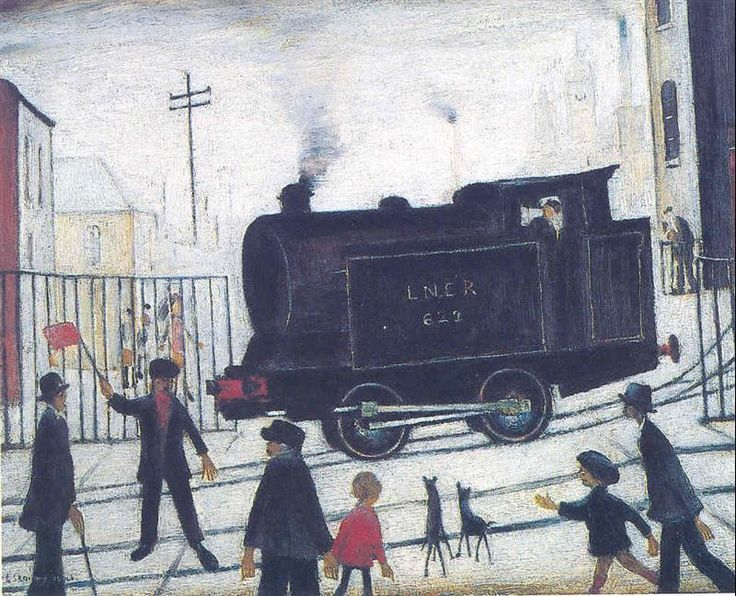 Level Crossing by Lowry