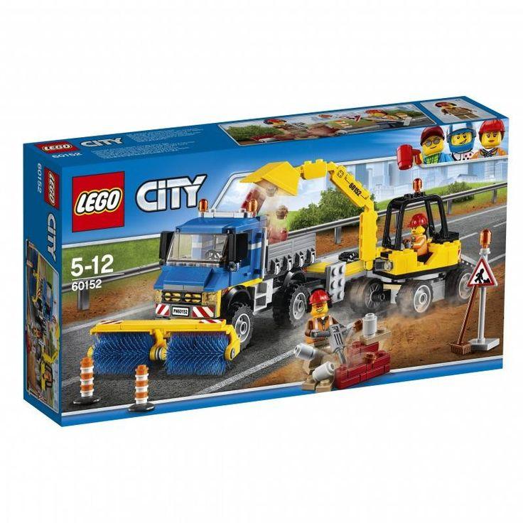 #Lego #LEGO® #60152   LEGO City Straßenreiniger und Bagger Gebäudeset  Alter: 5-12, Teile: 299LEGO ® City Strassenreiniger und Bagger 60152.    Hier klicken, um weiterzulesen.  Ihr Onlineshop in #Zürich #Bern #Basel #Genf #St.Gallen