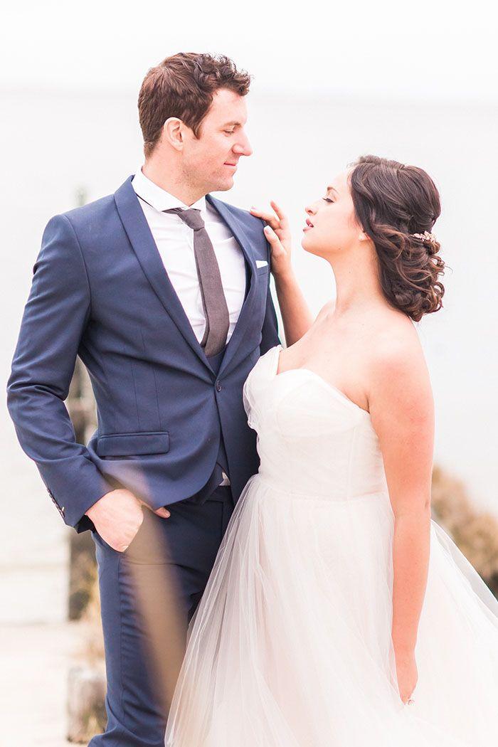 Ethereal Coastal Wedding Photos