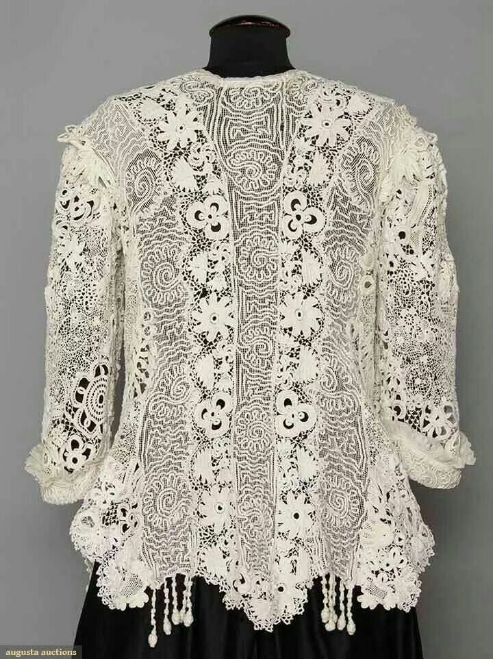 Irish Lace Jacket