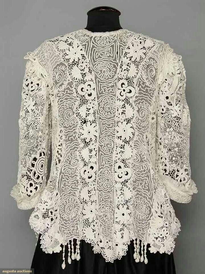 Irish Lace Jacket