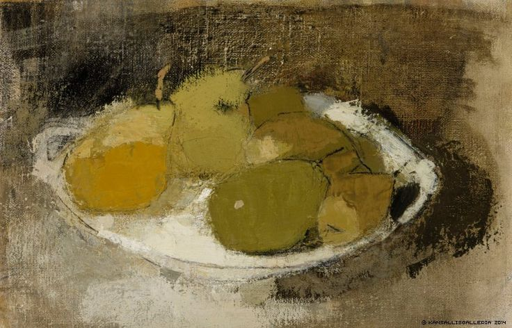 Schjerfbeck, Helene - Still Life in Green, n. 1930, Finnish National Gallery