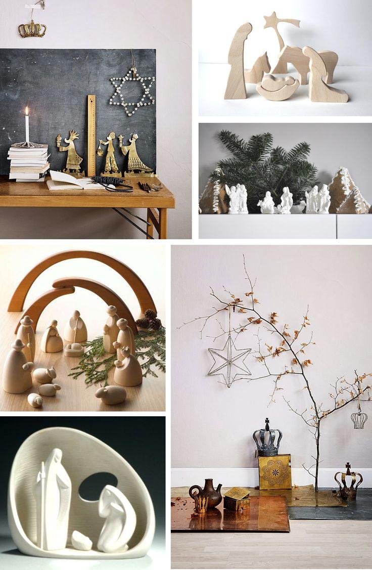 M s de 1000 ideas sobre navidad n rdica en pinterest for Como decorar un belen de navidad