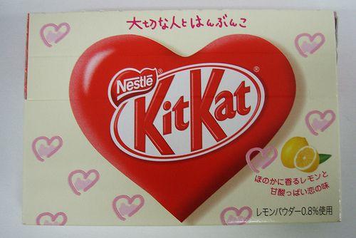 Kit Kat japonés para San Valentín