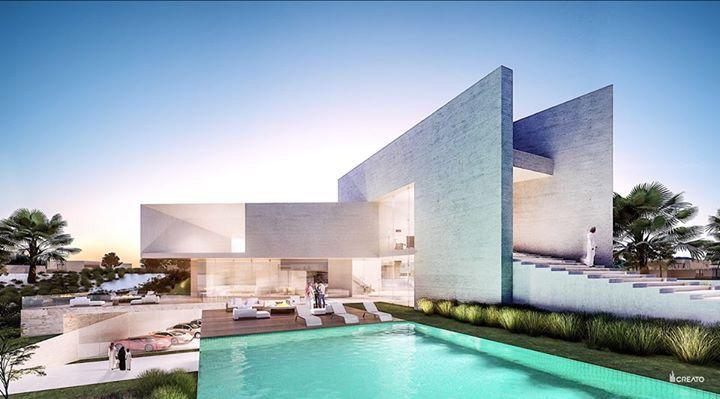 #villa #design #luxe #amazing #facade