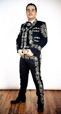 Image result for silver studded charro suits
