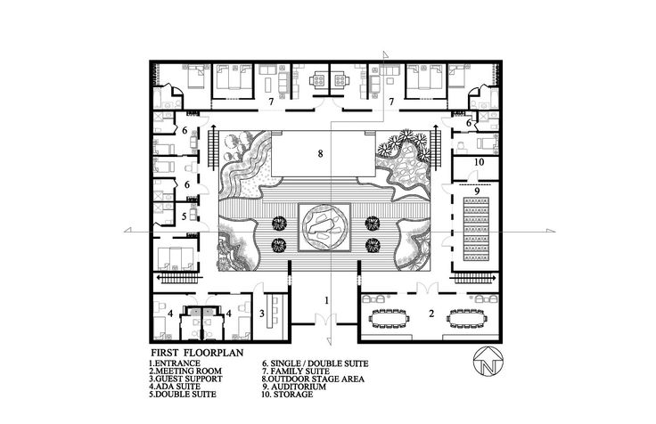 Traditional chinese house layout google search chinese - Asian house designs and floor plans ...