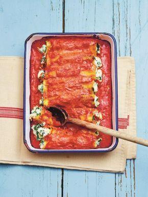 Cannelloni met spinazie en ricotta uit 'Lukt altijd!'