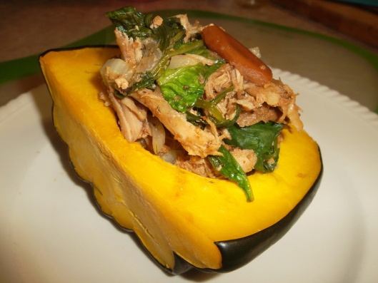 Slow-Roasted Pork Shoulder With Stuffed Squash Recipes — Dishmaps