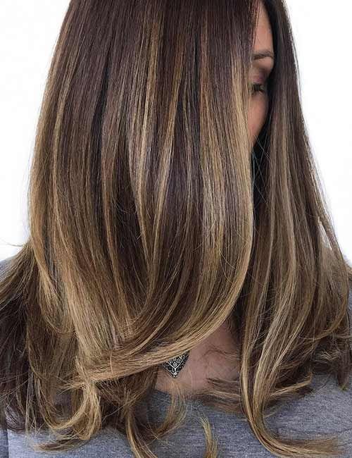 lys blond hår