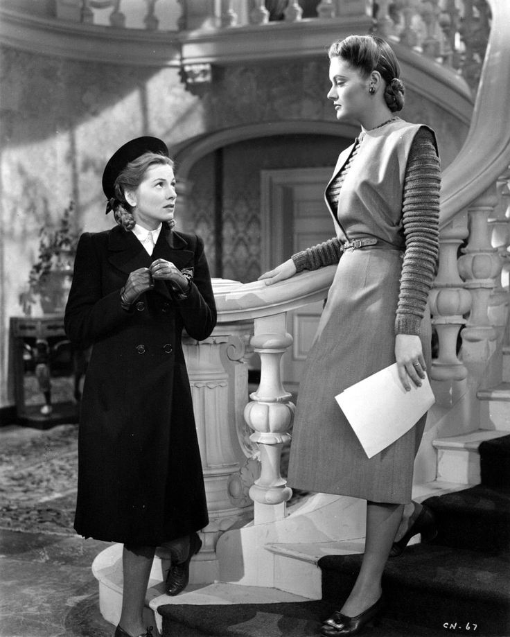 Joan Fontaine and Alexis Smith - THE CONSTANT NYMPH