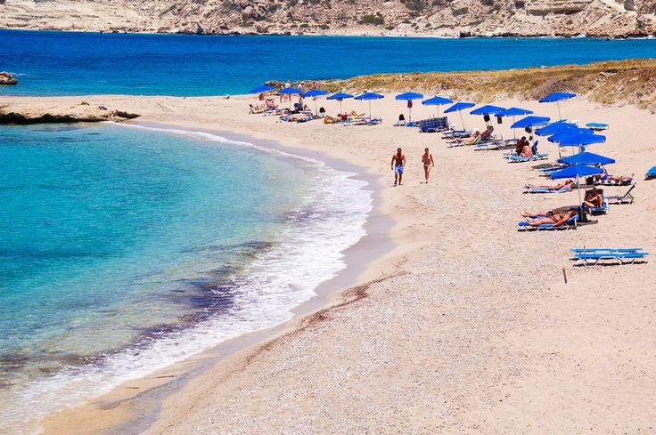 Karpathos Lefkos beach Greece
