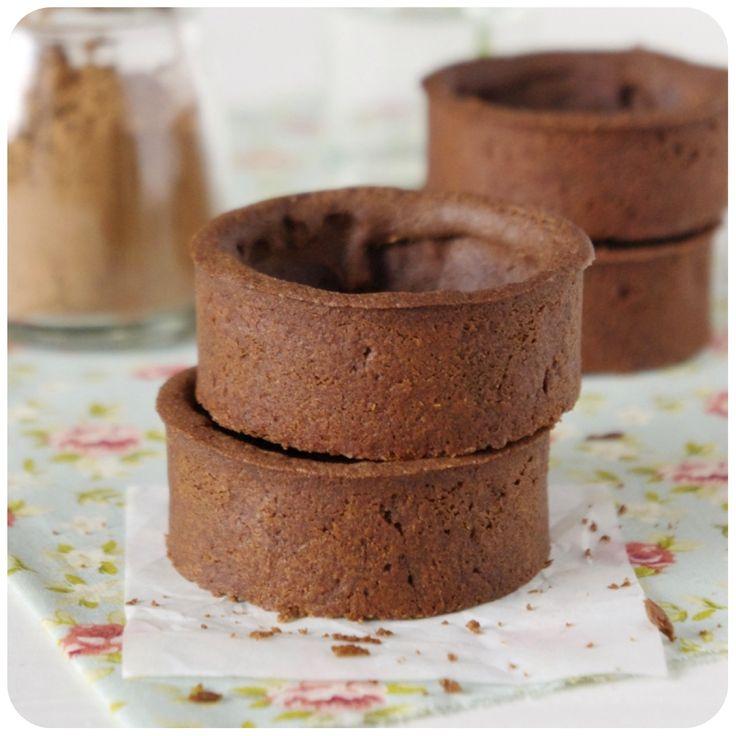 Pâte Sucrée de Chocolate Amargo | Vídeos e Receitas de Sobremesas
