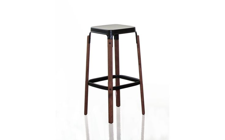 STEELWOOD STOOL [walnut] | Magis Japan -official homepage-