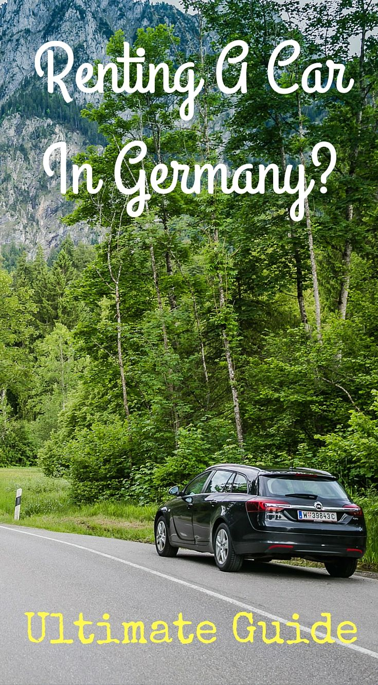 Renting a car in Germany Ultimate Guide. If you want the ultimate German road trip experience and are looking to discover Germany off the beaten path like we did, look no further. Everything you need to know about taking a Germany road trip. Click to read the full adventure travel blog post at http://www.divergenttravelers.com/ultimate-germany-road-trip-guide/
