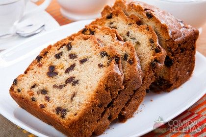 Receita de Bolo inglês com passas em receitas de bolos, veja essa e outras receitas aqui!
