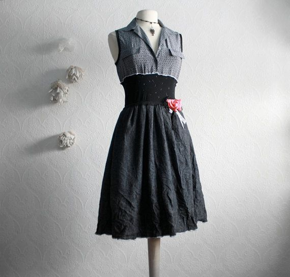 Upcycled Dress by Broken Ghost