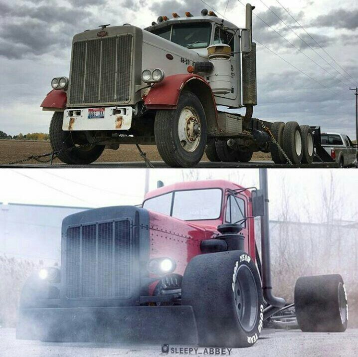 That's a nice truck u trans formed