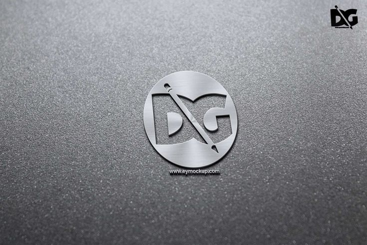 Free Grey 3d Paper Logo Mockup Logo Mockup Logo Design Mockup Paper Logo