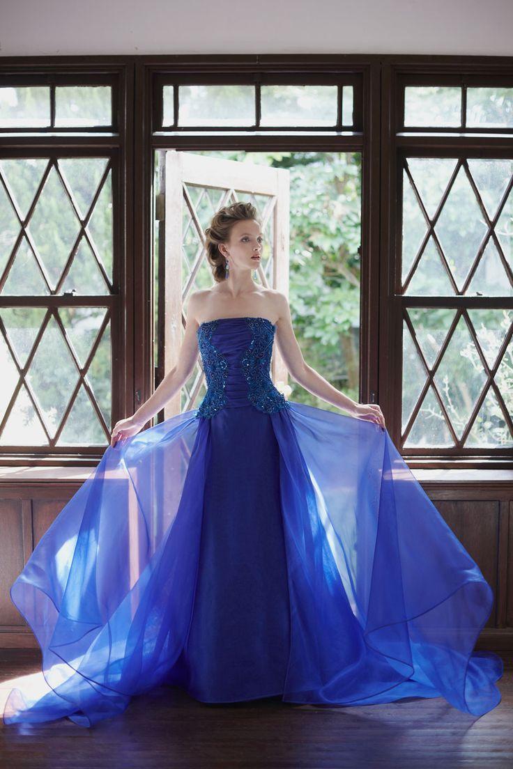 BTNV185 #NOVARESE #colordress #lace #navy #wedding #weddingdress #ウエディング #カラードレス #結婚式 #ネイビー #クラシカル #ノバレーゼ