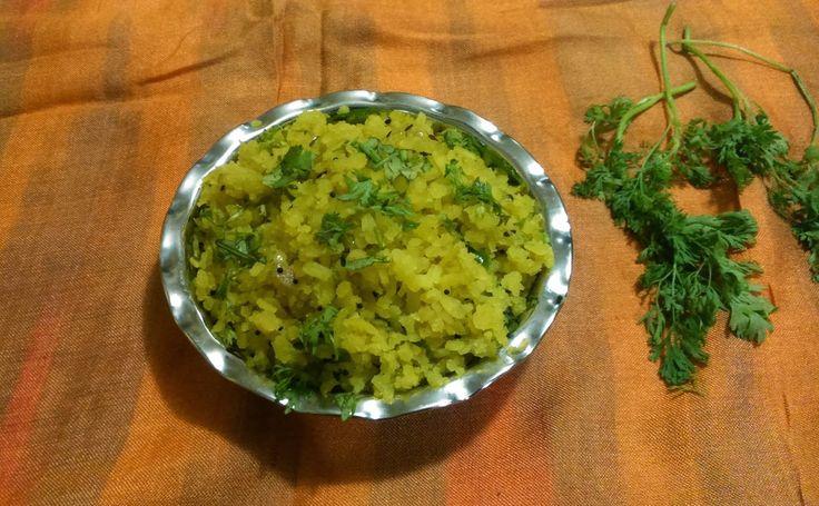 Tasty Kanda Poha, Maharashtrian Recipe http://cookeryatlas.blogspot.com/2015/04/tasty-kanda-poha-maharashtrian-recipe.html