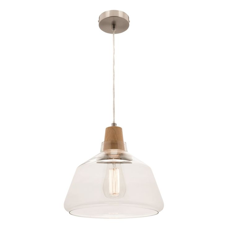 Find Mercator 240V Laya Pendant Light Large - Timber/Glass at Bunnings Warehouse. Visit your local store for the widest range of lighting & electrical products.