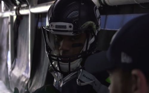 Watch as Seahawks quarterbacks get ready for their Week 11 game against the Philadelphia Eagles.