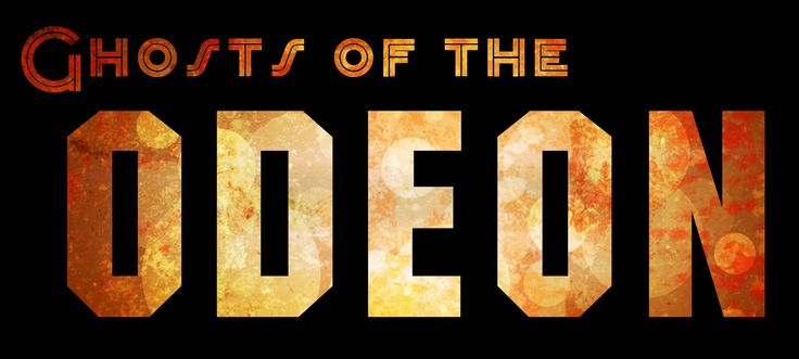 Ghosts of the Odeon logo - designed by Daniel J. Fox