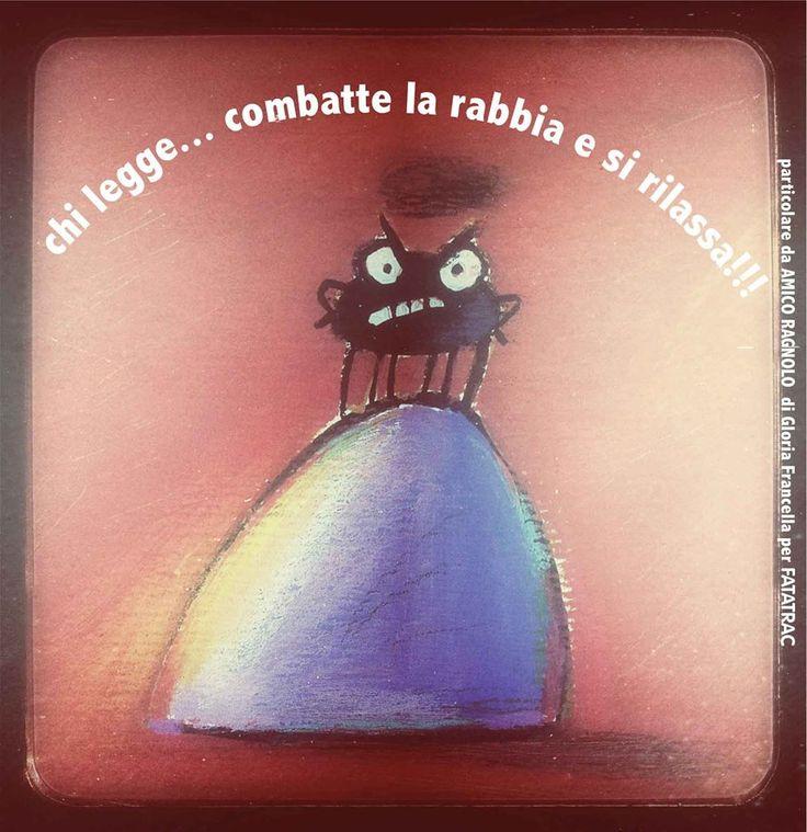 #ChiLegge... combatte la rabbia e si rilassa. http://www.giunti.it/libri/bambini/amico-ragnolo3/