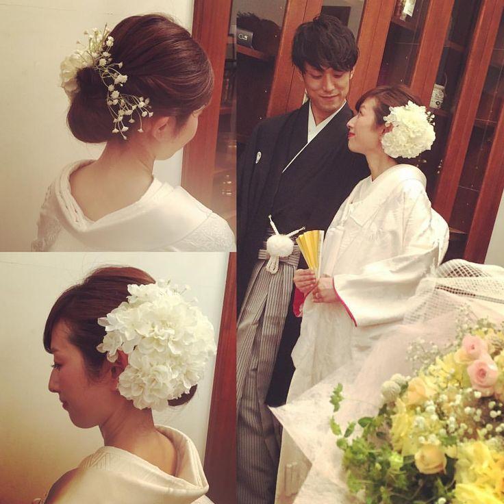 Beaut'e Des AngesさんはInstagramを利用しています:「お色直しスタイルはコチラ‼︎お色直しに白無垢も素敵ですよね♪ #takamibridal#bridalhair#makeup#hair#weddingmakeup#bridal#hairarrange#bride#make#beautedesanges #へアメイク#タカミブライダル#ブライダルヘア#メイク#ヘア#花嫁#ヘアアレンジ#プレ花嫁#南青山ルアンジェ教会#表参道#ボーテドルアンジェ#ヘアメイクサロン#セットサロン」