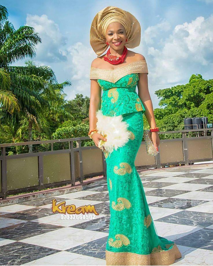 """980 Likes, 6 Comments - African Sweetheart Weddings (@africansweetheartweddings) on Instagram: """"Asa! Photography by @kreamagazine.  #africansweetheartweddings #bride #nigerianwedding"""""""