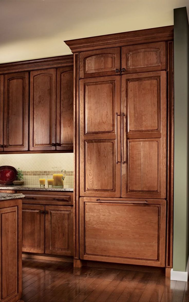 Decorative Appliance Panel for Bottom Freezer Refrigerator - KraftMaid