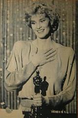 "1995 Jessica Lange - Won Oscar Best Actress ""Blue Sky"""
