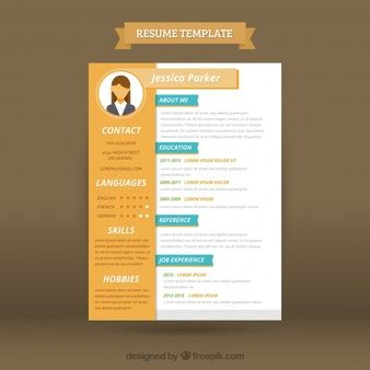 18 best resume images on pinterest resume template free