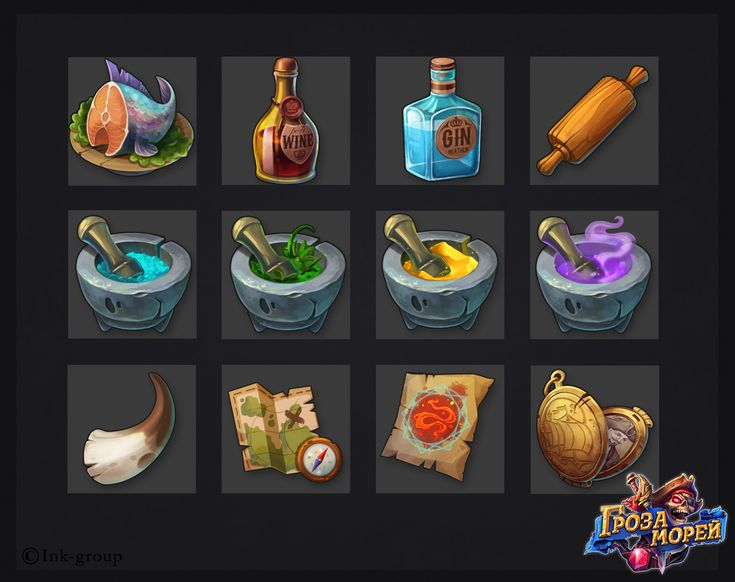 https://www.behance.net/gallery/43161345/Icons-and-Items-for-Pirates-game