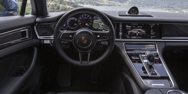 Essai Porsche Panamera 2 Turbo & 4S - Asphalte.ch