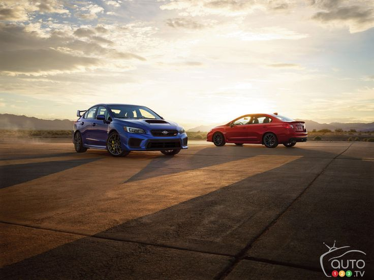 All-new 2018 #Subaru WRX and WRX STI unveiled in Detroit | Car News | Auto123