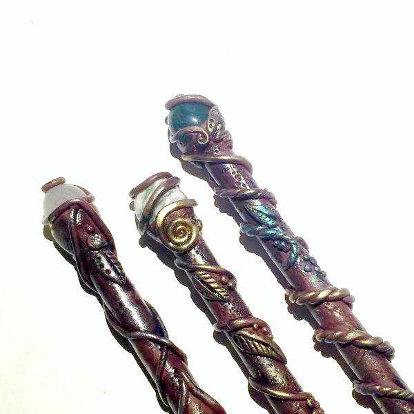Penne Bacchetta Magica   Ispirate a Harry Potter   Polymer Clay Tutorial In questo video ti insegnerò come trasformare delle...