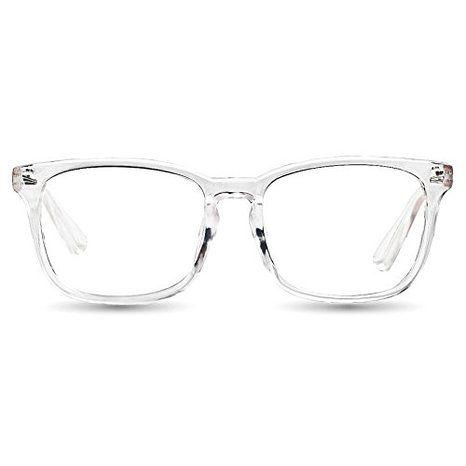 TIJN Women\'s Transparent Glasses Frame Wayfarer Chic Clear Lens ...