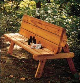 free picnic table/bench wood plans (IT'S A GOOD THING THESE PLANS KEEP GETTING REPINNED-I AM ASKED ABOUT THEM A LOT.I WAS ABOUT TO DO IT AGAIN! DB.)