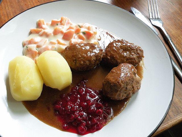 Kjøttkaker i brun saus - uten egg
