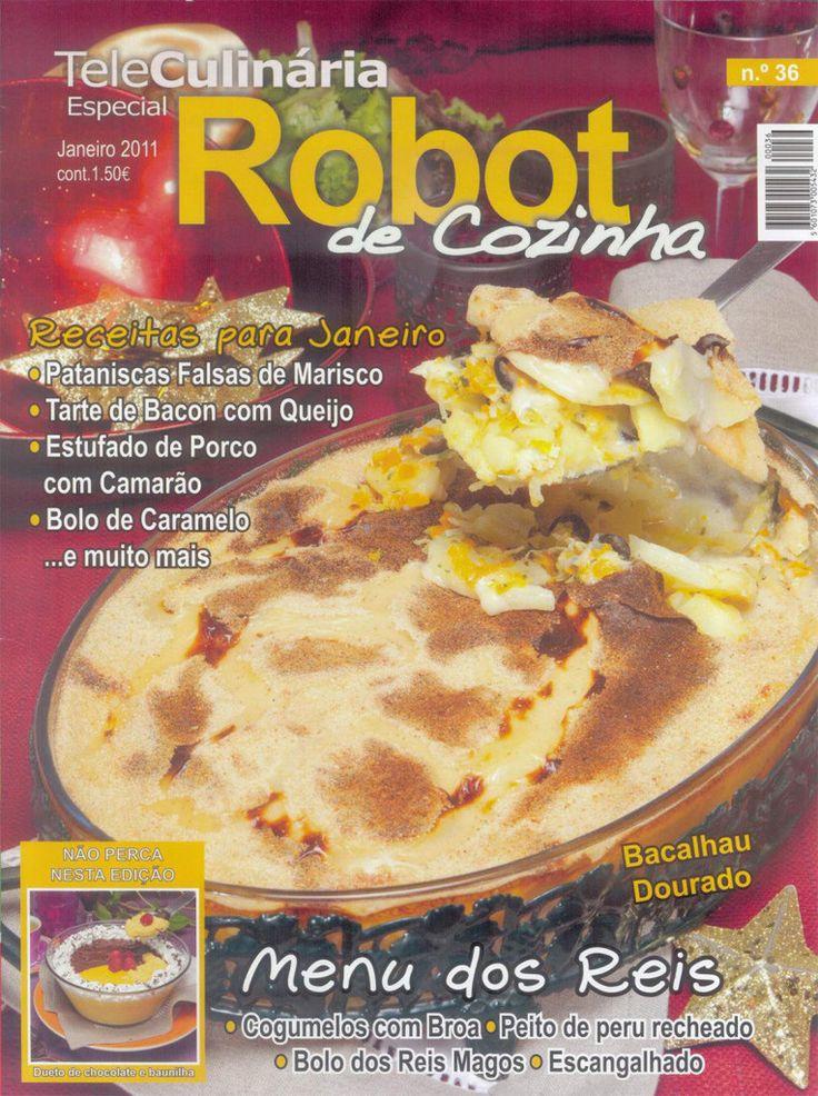 TeleCulinária Robot de Cozinha Nº 36 - Janeiro 2011