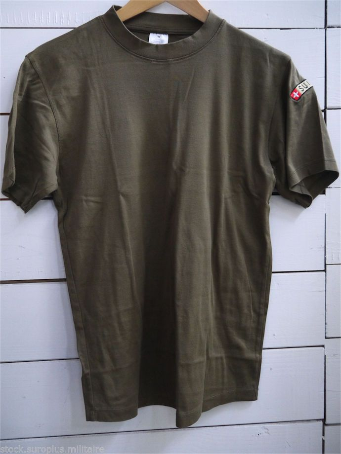tee shirt militaire surplus arm e suisse taille 48. Black Bedroom Furniture Sets. Home Design Ideas
