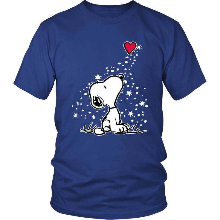 In Love Snoopy Shirts