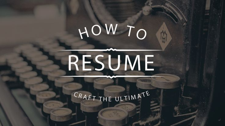 The difference between getting your dream job and not is black and white, literally. Your resume defines you, make it a perfect resume.